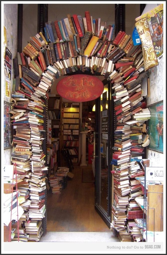 Book Arch ~ My Heart is Set On It