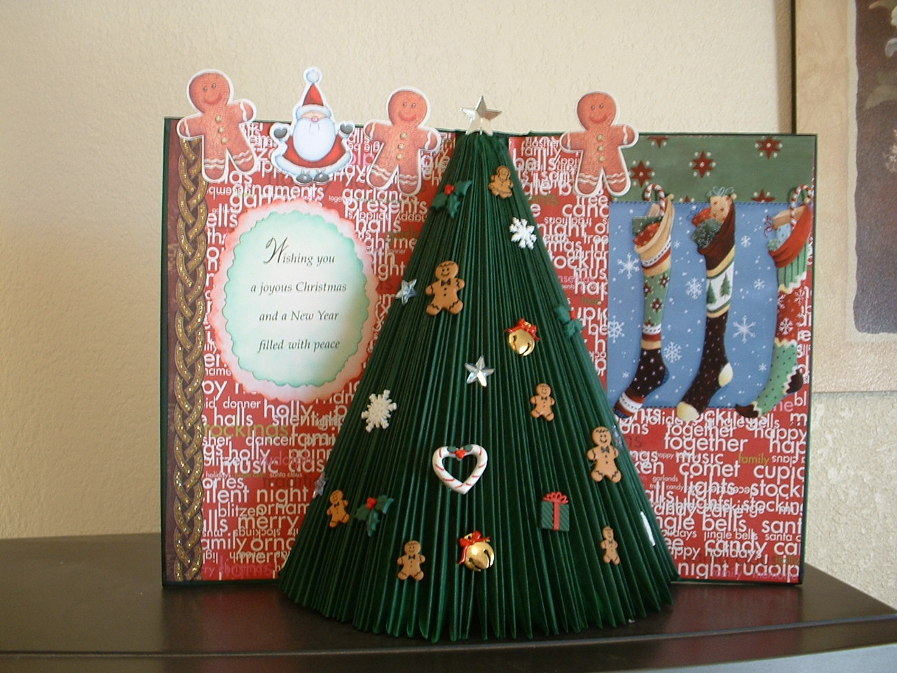 Altered Books As Christmas Decor Beyond Survival In A