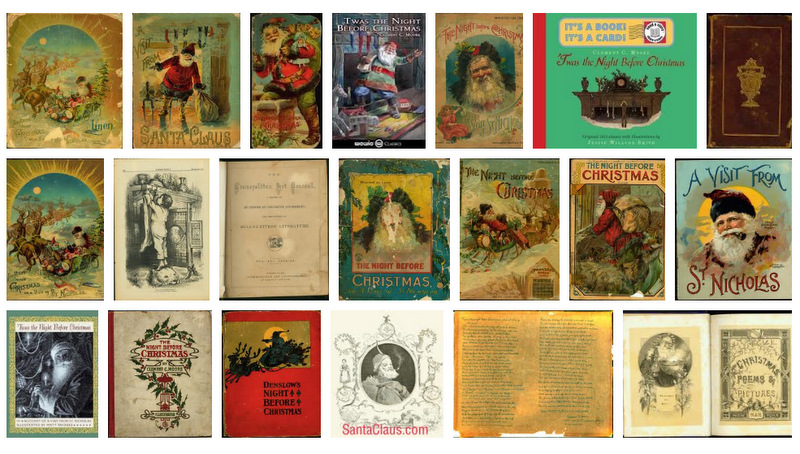photo regarding Twas the Night Before Christmas Printable Book identify Twas the Evening Ahead of Xmas: Record and Culture