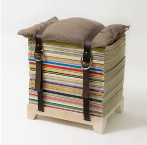 Repurposing Books and Magazines