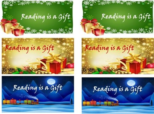 ChristmasReadingisaGiftBookmarks
