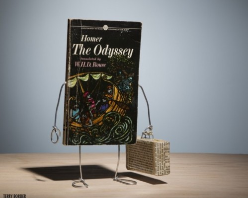 Terry Border 'The Odyssey' from his Wiry Limbs, Paper Backs Series