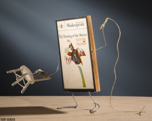 Terry Border 'The Taming of the Shrew' from his Wiry Limbs, Paper Backs Series