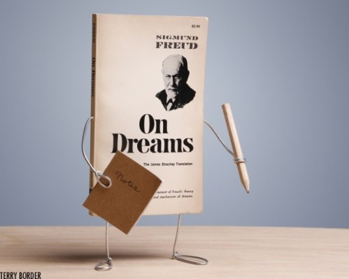 Terry Border 'On Dreams' from his Wiry Limbs, Paper Backs Series