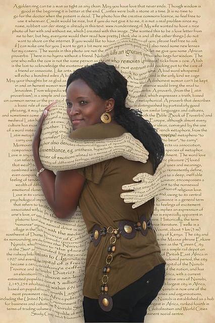 Embraced by Words by  Robbert van der Steeg on Flickr